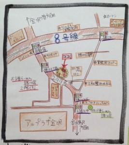 スタジオSeri地図